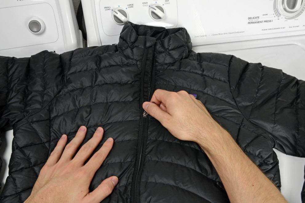 como lavar chaqueta de plumas north face
