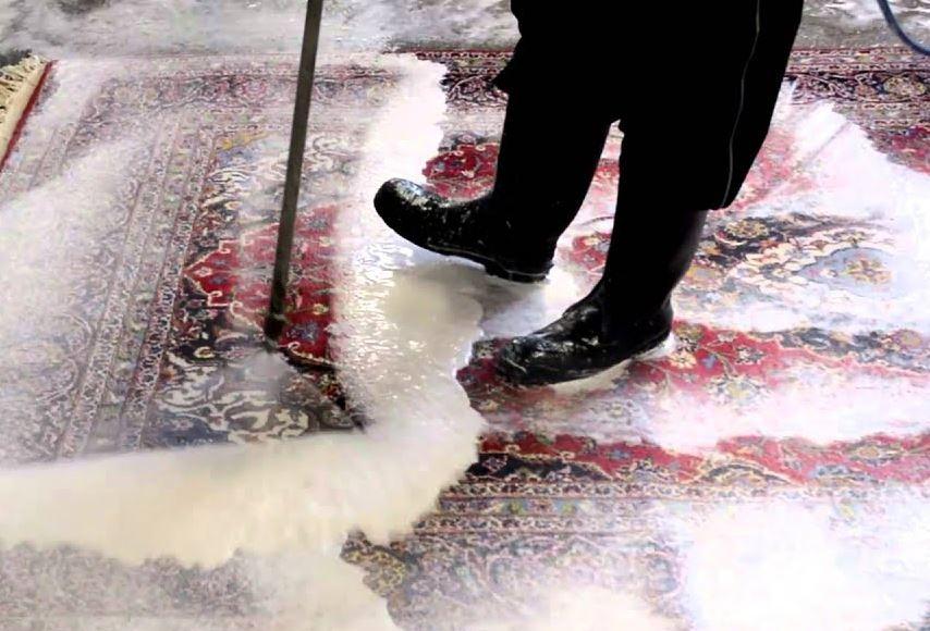 como lavar la alfombra correctamente