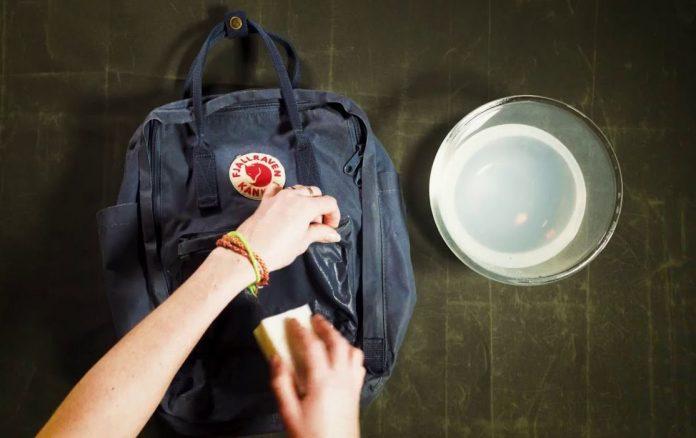 como limpiar una mochila kanken