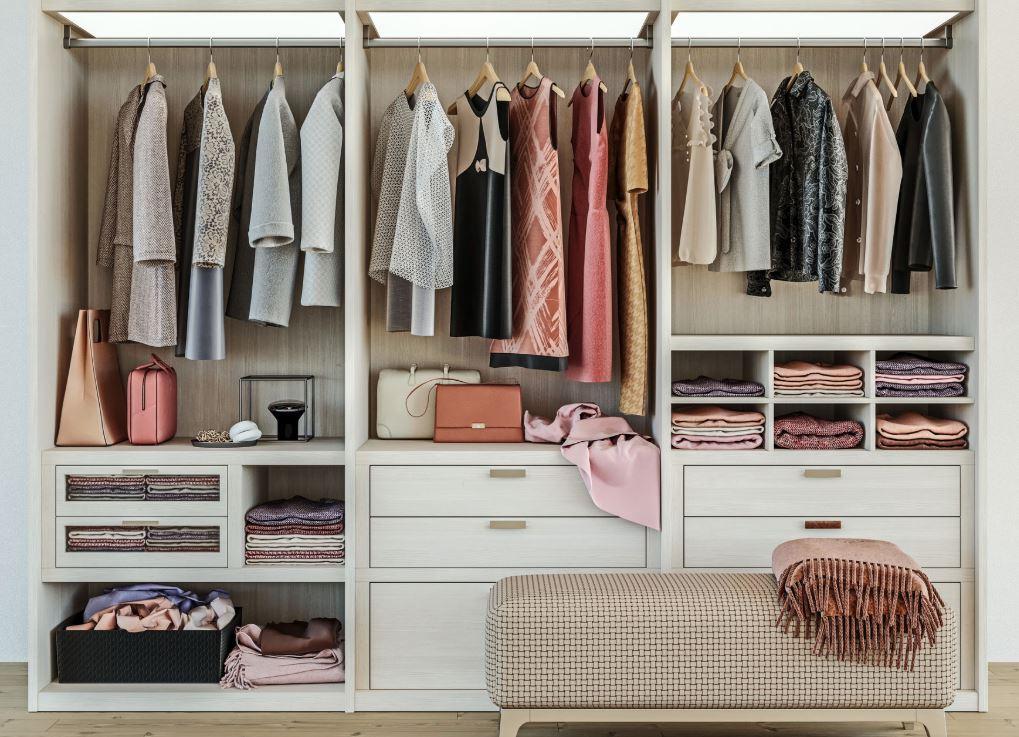 como ordenar un armario de ropa