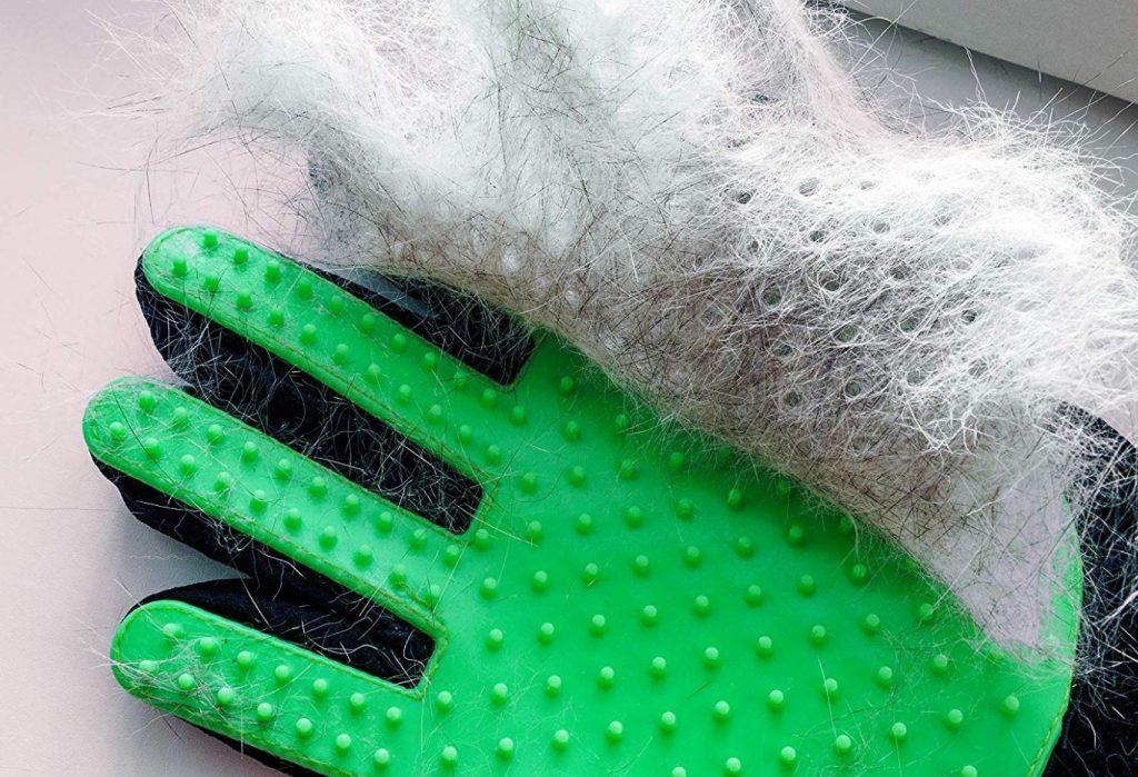 guantes para quitar pelo de gato