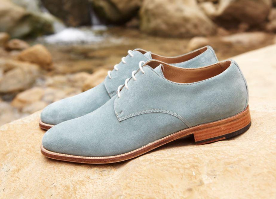 limpiar zapatos ante mancha agua