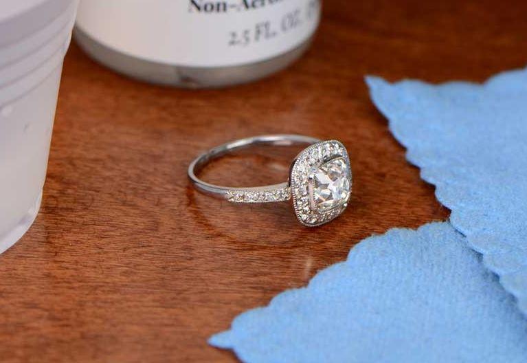 limpieza anillos de plata facil