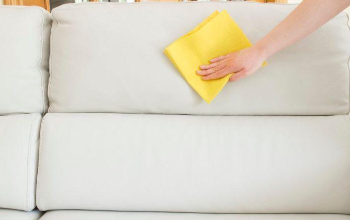 limpieza sofa polipiel limpiezapedia