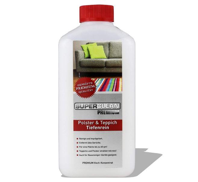 liquido para limpiar alfombras efectivo