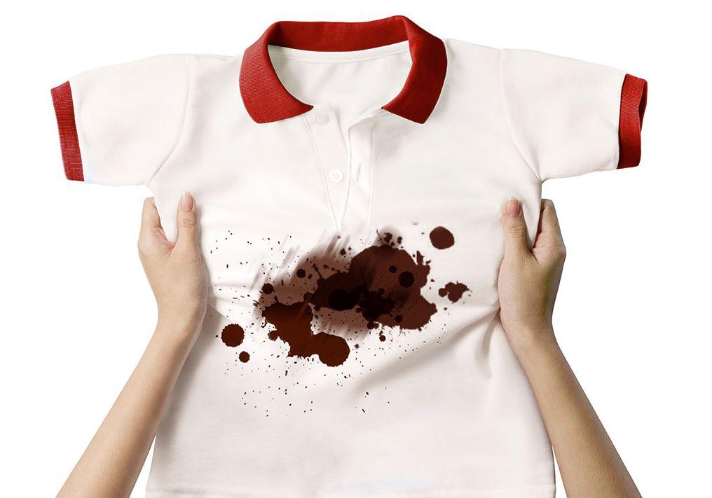 manchas de chocolate liquido quitar ropa