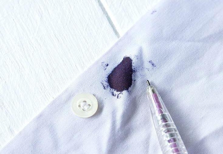 quitar tinta azul de la ropa