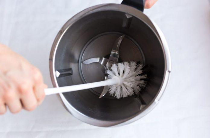 limpieza de vaso thermomix