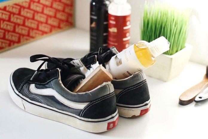 como blanquear suela zapatillas