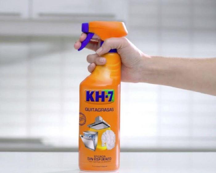 como sacar manchas de sangre con kh7 quitagrasas