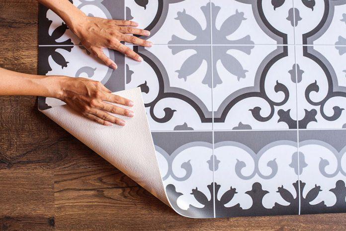 limpiar alfombras de vinilo
