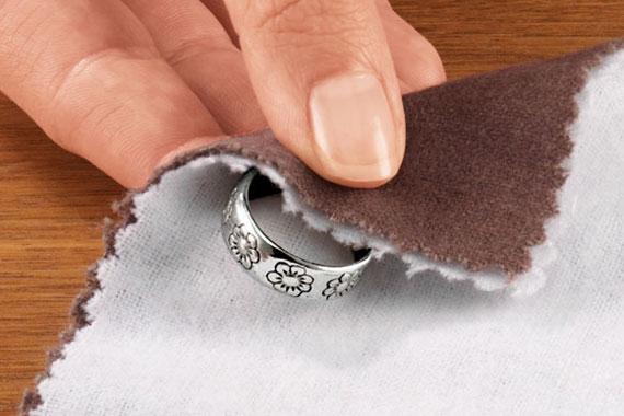 limpiar joyas plata ennegrecida