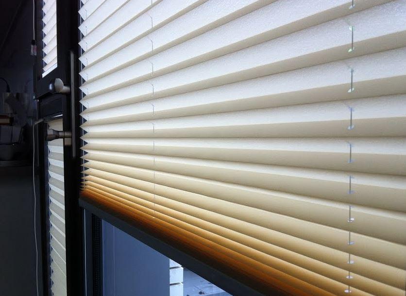 ventajas de las persianas plisadas