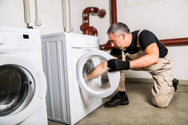 como limpiar lo negro de la goma lavadora