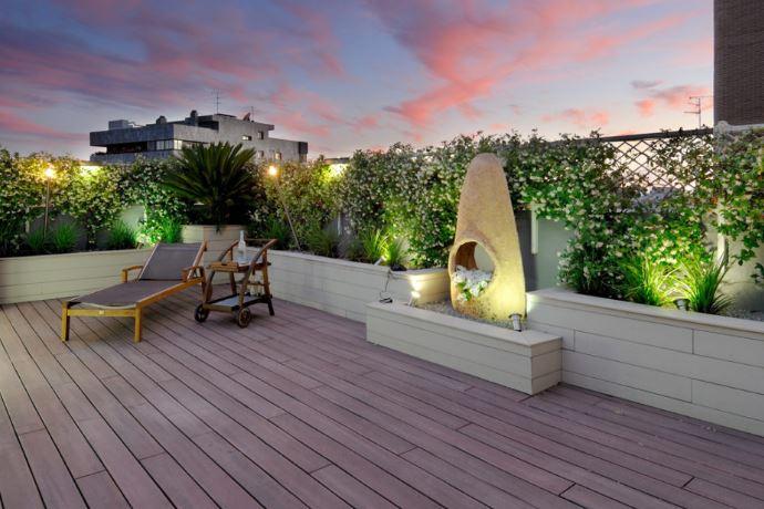 como limpiar una terraza de composite