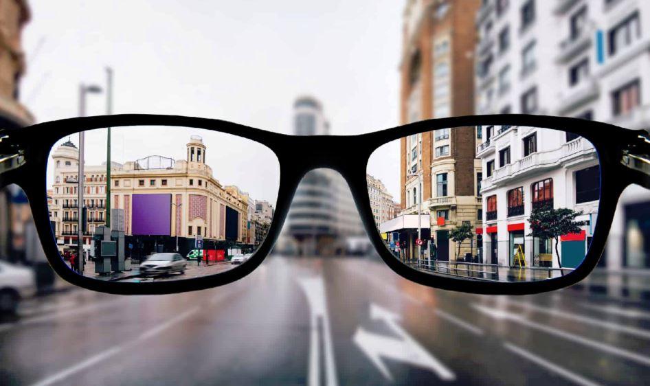 como se ve con unas gafas de vista en madrid