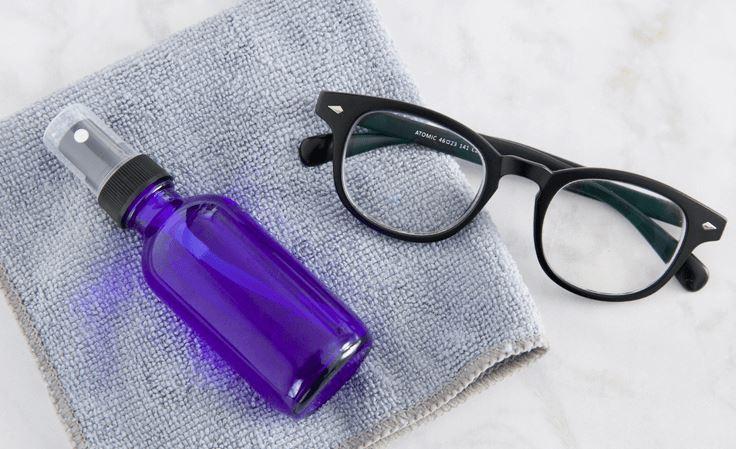 limpiar cristales gafas con vinagre