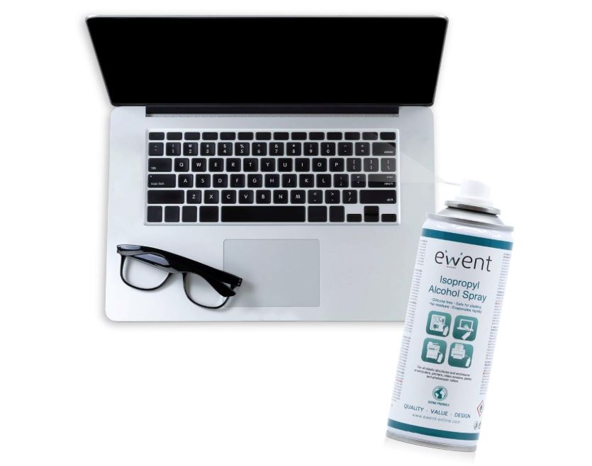 limpieza de lentes con alcohol isopropilico