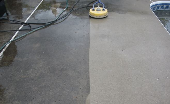 limpieza de pisos de hormigon
