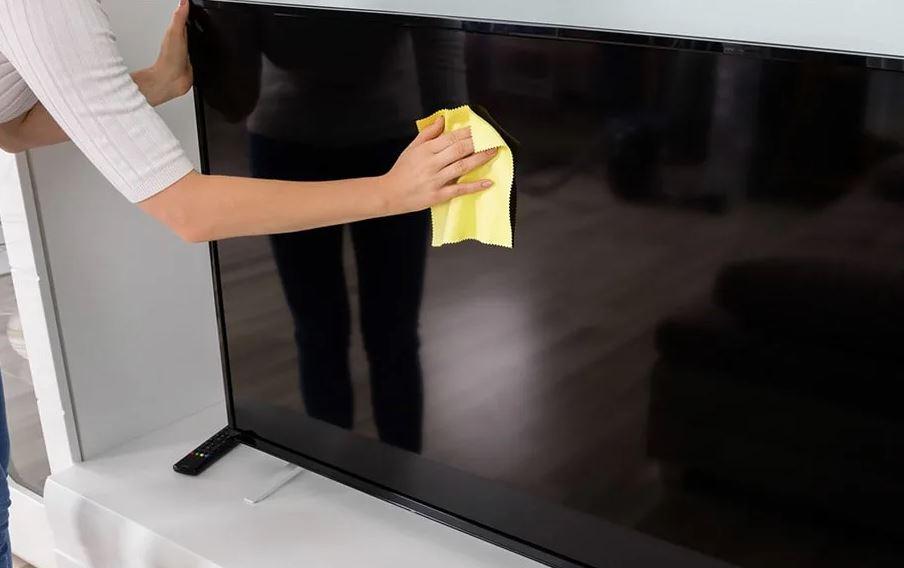 como limpiar la pantalla de plasma