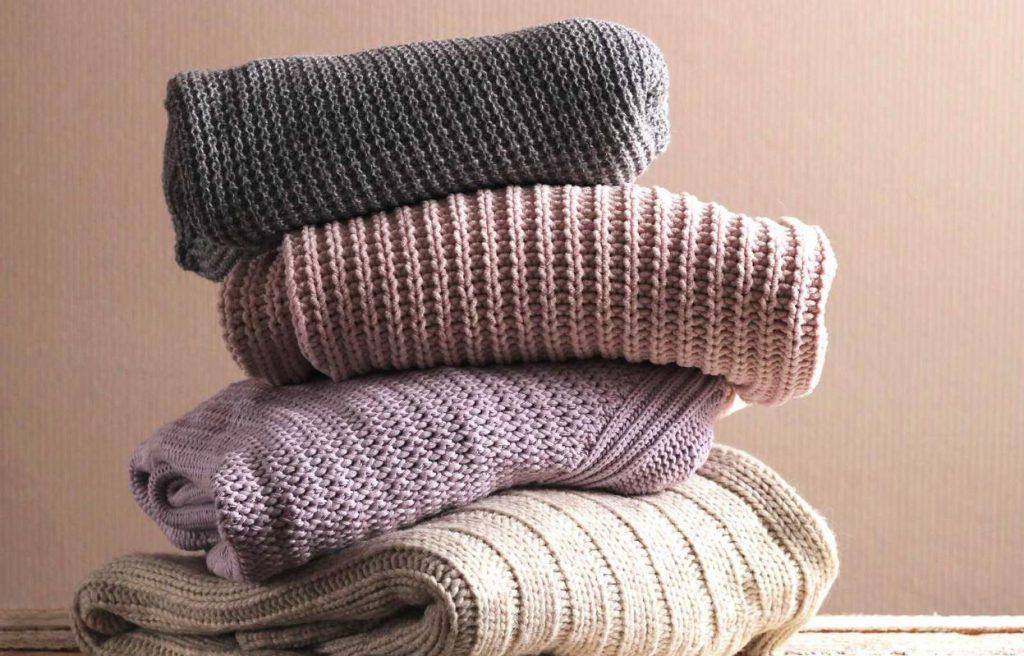 como limpiar la ropa de lana