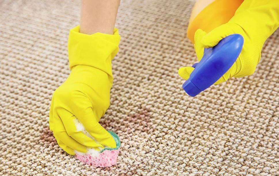 como limpiar una alfombra de yute en casa