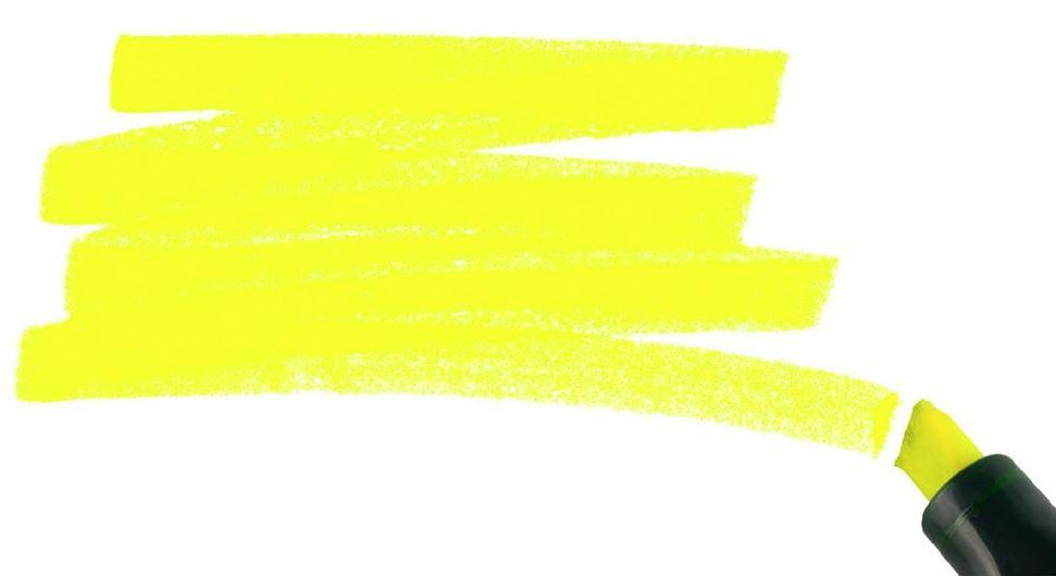eliminar manchas de rotulador fluorescente