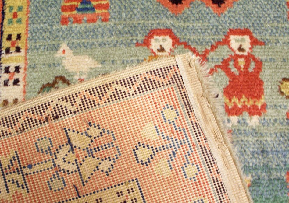 limpiar alfombra de yute con agua