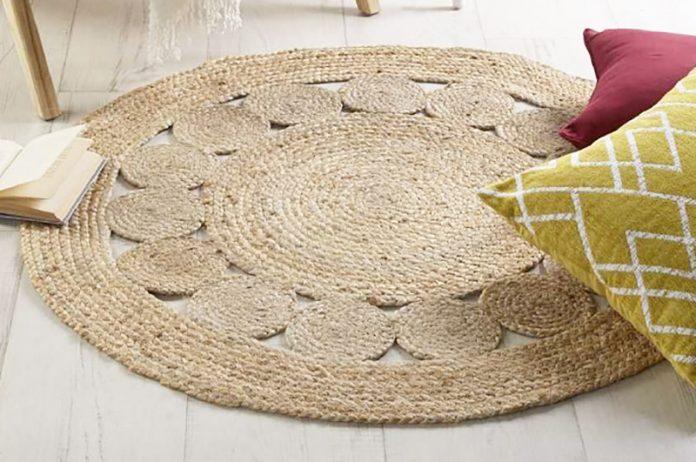limpiar alfombras de yute