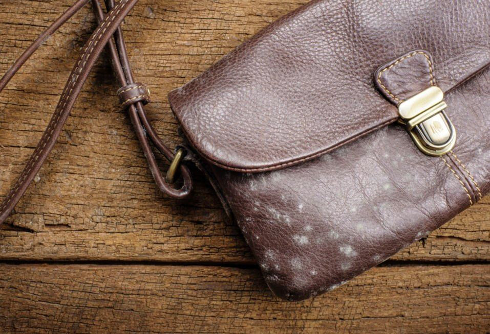 limpiar bolso cuero marron