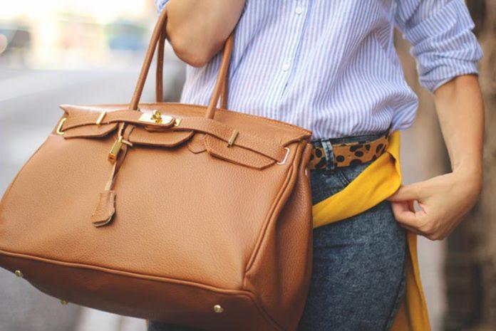 limpiar un bolso de piel