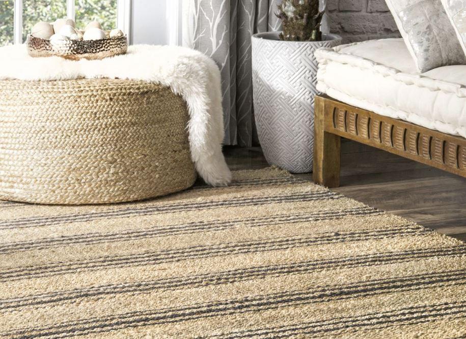 limpieza de alfombras yute