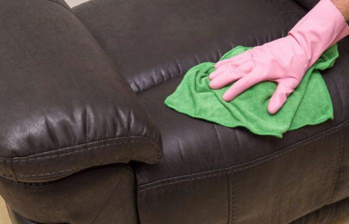 limpieza sofa de cuero limpiezapedia