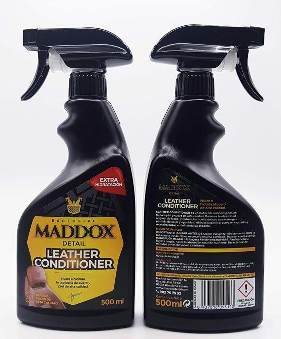 producto para limpiar cuero maddox