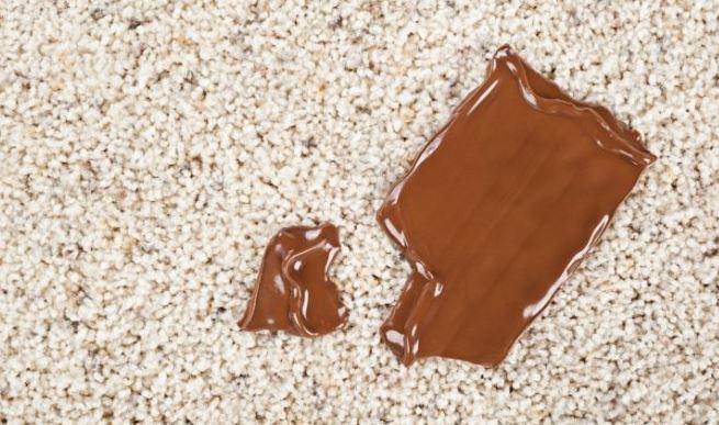 quitar manchas de chocolate en lana