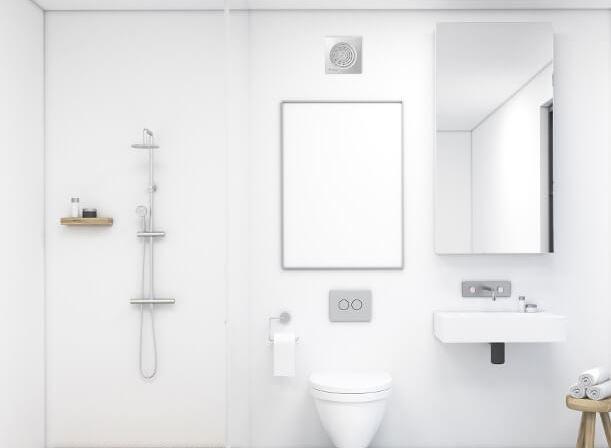 como instalar extractor de baño