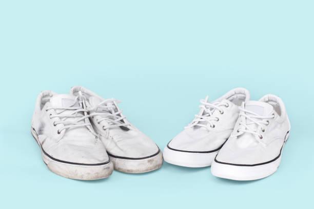 como limpiar unas zapatillas de tela blancas