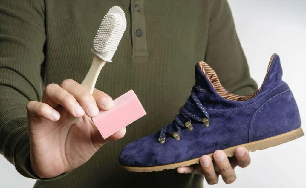 como limpiar zapatos de terciopelo