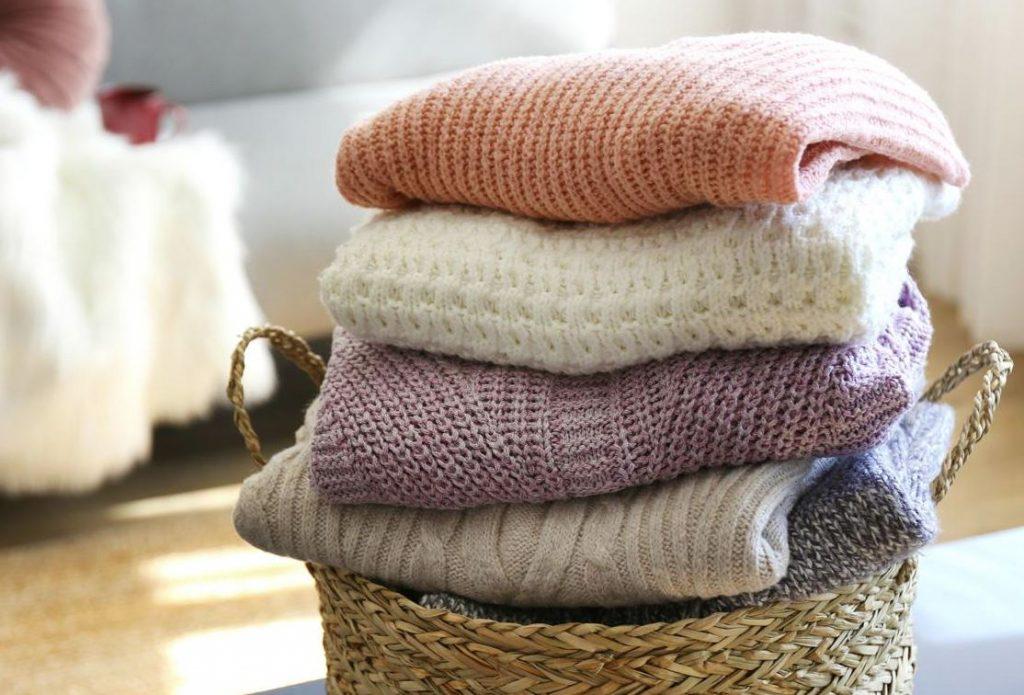 como sacar manchas en prendas de lana