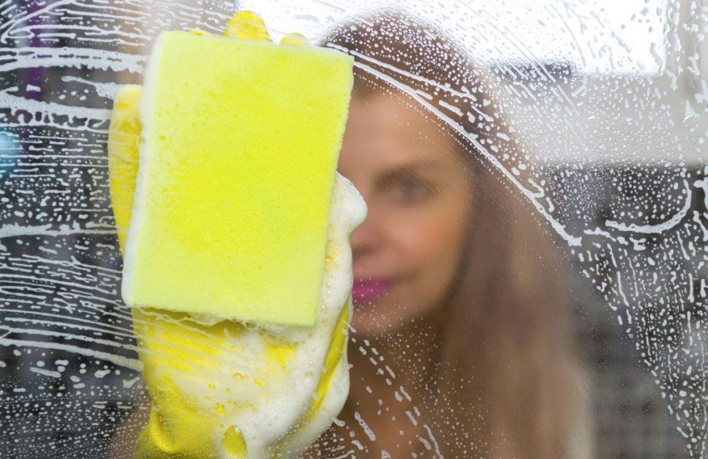 limpieza de espejos y cristales