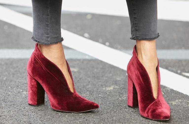limpieza zapatos terciopelo mujer