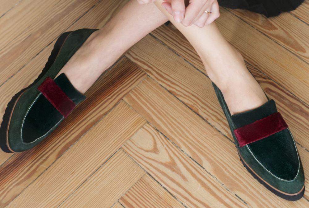 mantenimiento calzado terciopelo