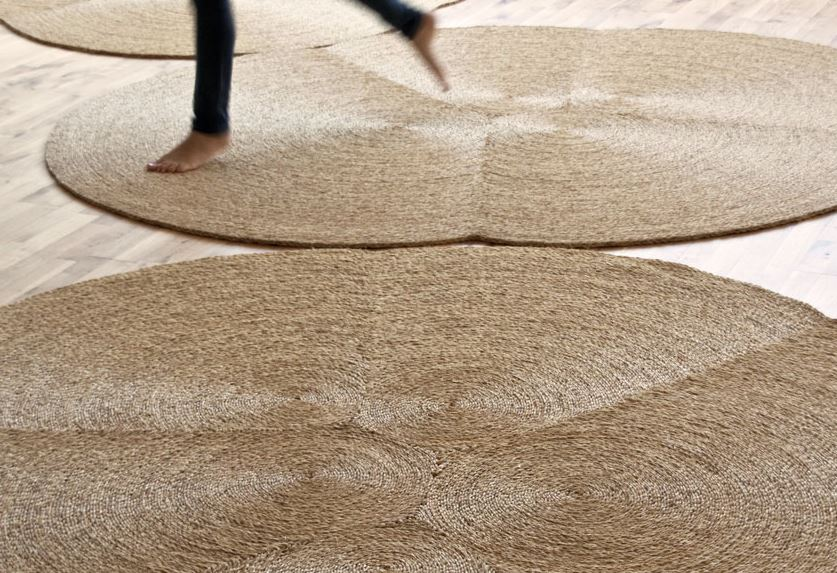 como limpiar una alfombra de esparto