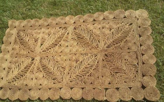 limpiar alfombra de esparto - limpiezapedia