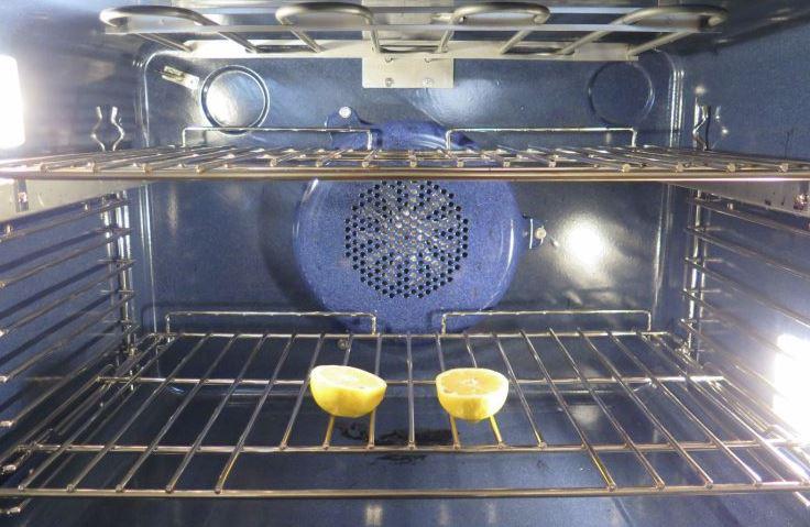 limpiar horno con limon