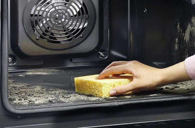 limpieza del horno con sal limpiezapedia