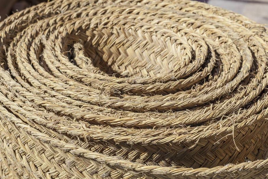 tipos alfombras esparto