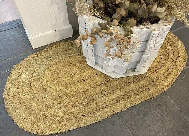 trucos para limpiar alfombras de esparto