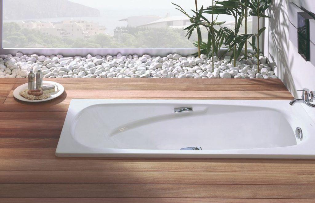 bañera de acero esmaltado