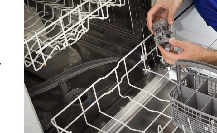 como desatascar el lavavajillas correctamente